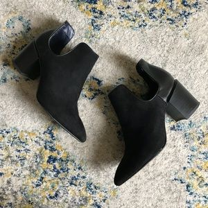 Zara Cutout Ankle Boots